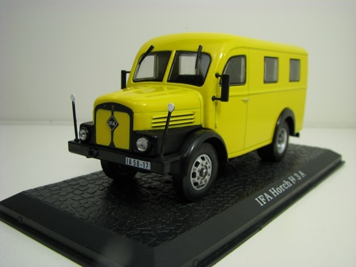 IFA Horch H 3 A Deutsche post 1:43 Atlas